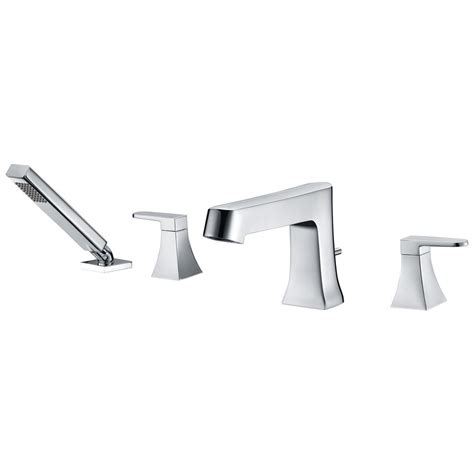 handheld faucet for bathtub modern tub shower faucet with handheld shower
