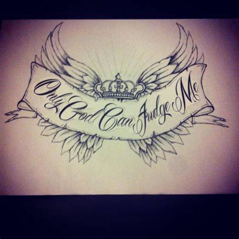 only god can judge me tattoo with cross 25 only god can judge me ideas entertainmentmesh