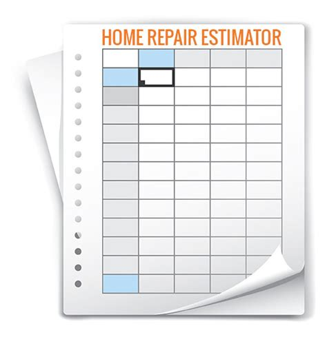 build complete home repair estimates in minutes