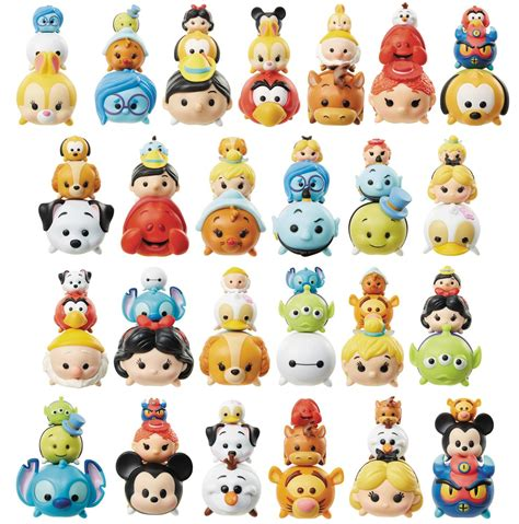 Popsockets Seri 4 disney tsum tsum figure 3 pack wave 3 atomic empire