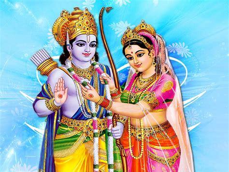 free hindu god goddess wallpapers sita ram wallpapers