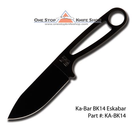 ka bar bk14 becker eskabar plain edge 0014