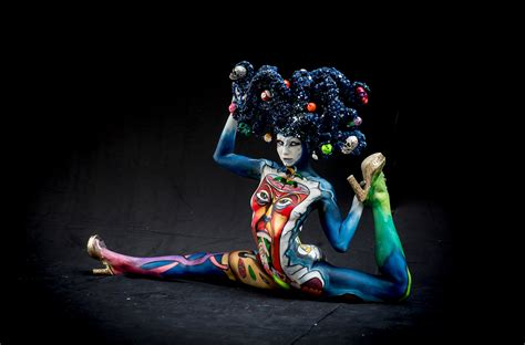 austria bodypainting festival 2015 world bodypainting festival 2015 in pictures world