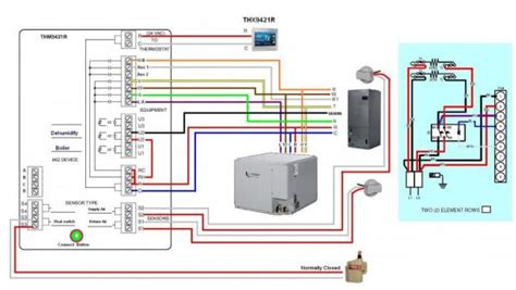 honeywell visionpro iaq wiring diagram honeywell get