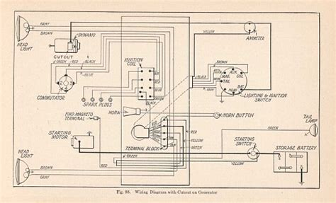photo engine wiring diagram ford model t 1908 to 1927