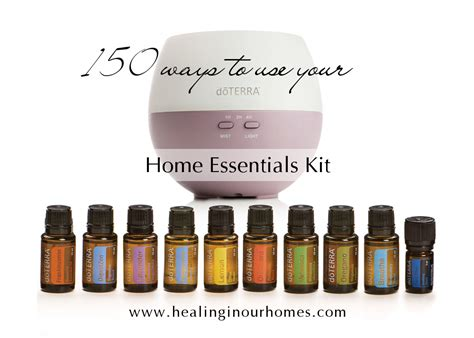 home essentials 150 uses for doterra s home essentials kit healing in