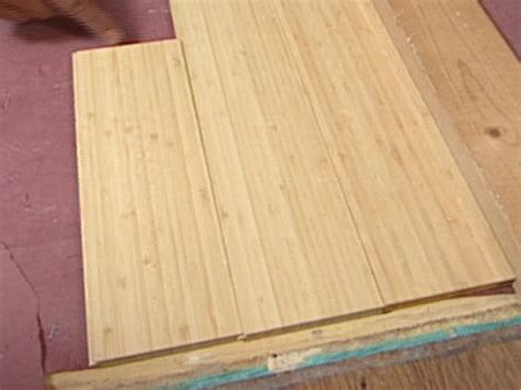 Diy Bamboo Flooring how to install bamboo plank flooring how tos diy