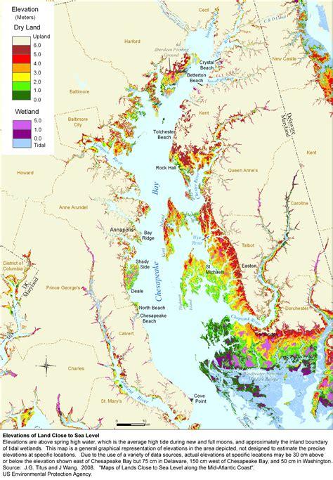 maryland bay map epa scientist says east coast beaches threatened by sea