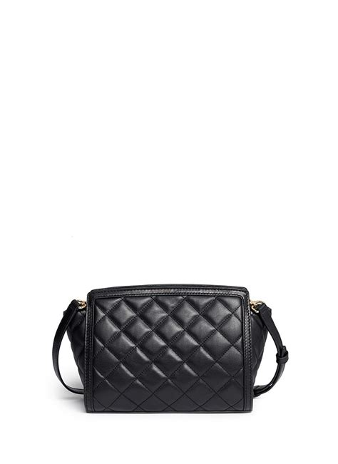 quilted leather michael kors selma medium quilted leather messenger bag