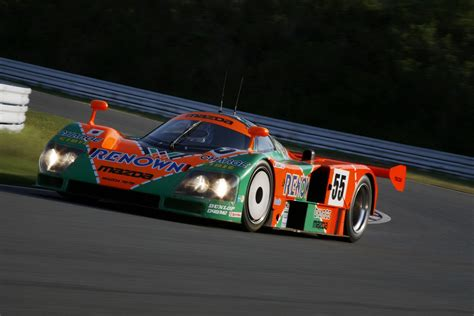 1991 le mans mazda mazda 787b 1991 winning car returns to le mans after 20