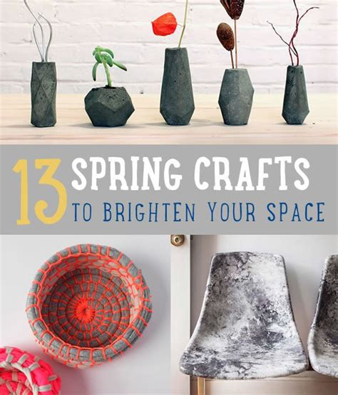do it yourself home decor crafts 13 spring craft projects fun fresh do it yourself projects