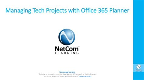 Tech Office 365 by Managing Tech Projects With Office 365 Planner