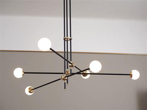 kronleuchter 50er beeindruckender mid century design leuchter aus messing