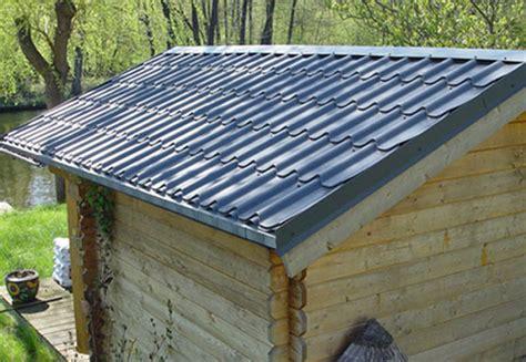 Dach Aus Blech by Undichtes Dach Gartenhaus Erneuern