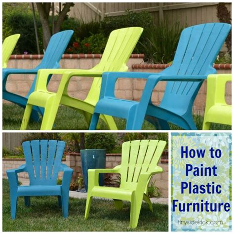 Best Spray Paint For Plastic Chairs - 25 best ideas about painting plastic furniture on