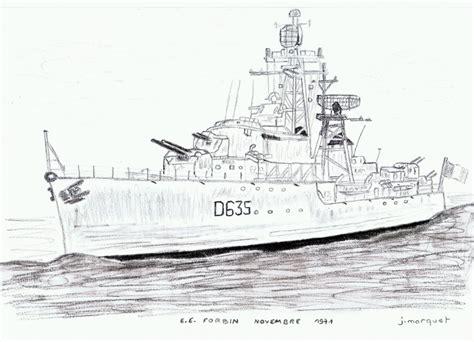 dessin bateau marine nationale dessins au crayon