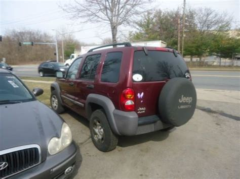 2002 Jeep Liberty Transmission Purchase Used 2002 Jeep Liberty It Has Bad Engine Not