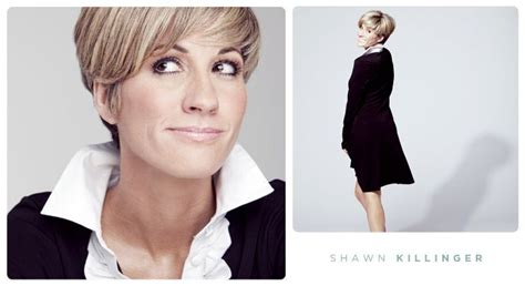 former qvc host with short blonde hair shawn killinger effin obnoxious short hair pinterest