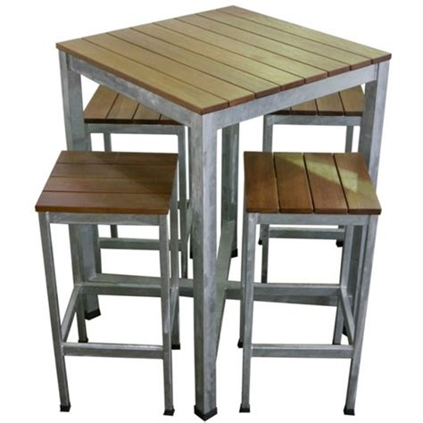 Garden Bar Table Carita Outdoor Bar Furniture Pub Table And Bar Stools Setting Apex