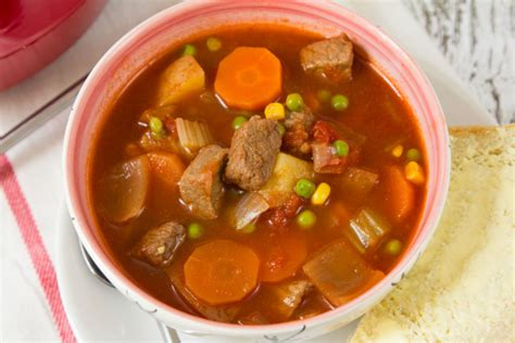 vegetables beef soup fashioned vegetable beef soup recipe genius kitchen