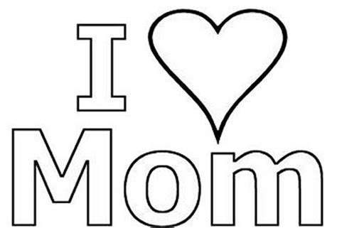 coloring pages for your mom i love you mom coloring pages to download and print for free