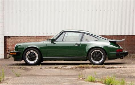 porsche irish green irish green 1989 porsche 911 club sport german cars for