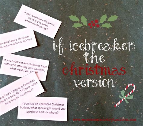 christmas party games for church groups if icebreaker the version youth celebrations and ranges