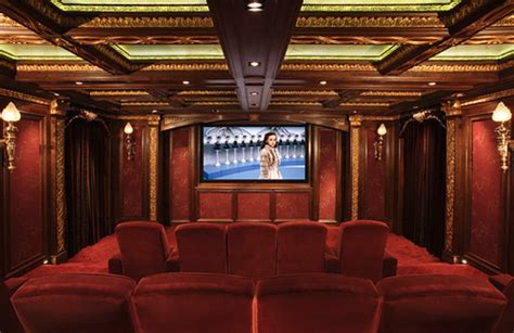 cinema decor for home home theater decor casual cottage