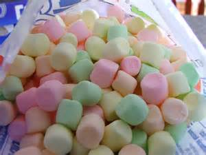 color marshmallows stained glass marshmallow roll dairy peanut free