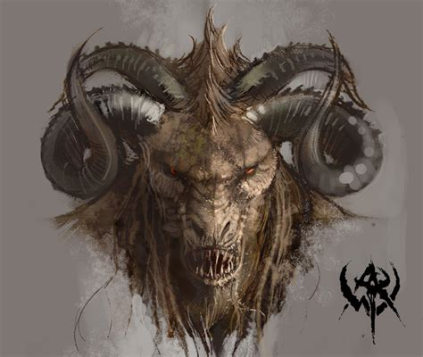 Gor Artwork by Goats In Video Games The Horned Beasts Popularity Revealed