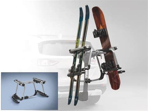 racks and carriers ski snowboard hitch mount carrier by