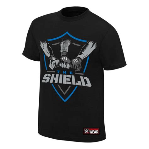 authentic square tshirt the shield in united authentic mens black t