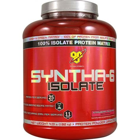 Hilo Protein Bsn Syntha 6 Isolate 912gr