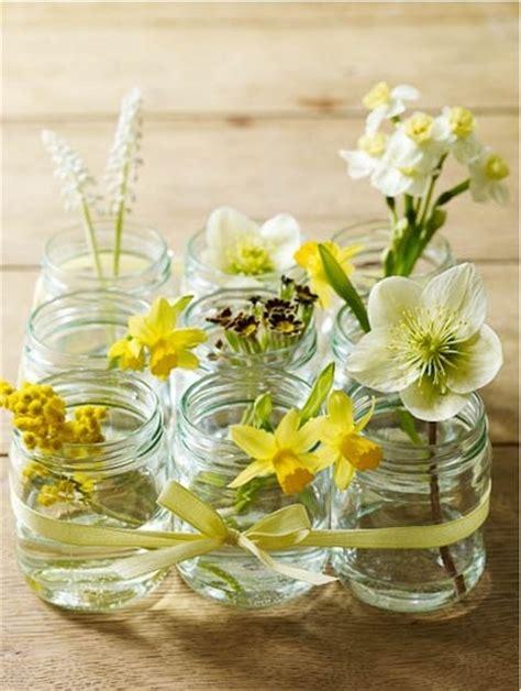 Simple Jar Centerpieces Simple Floral Jar Centerpieces Budget Brides Guide