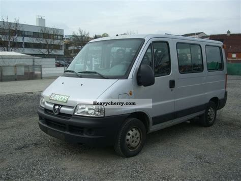 peugeot boxer hdi 9 seater 2005 estate minibus up to 9