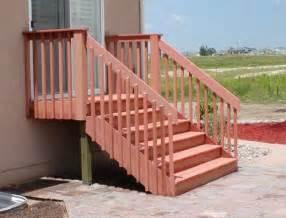 how to make handrails types of handrails for decks home design ideas