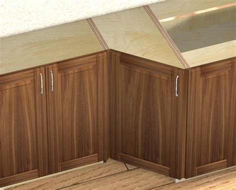 Cabinet Transition by 1 Door 45 Degree Transition Cabinet Left