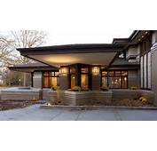 Prairie Style Windows Exterior Modern With Cantilever Frank Lloyd