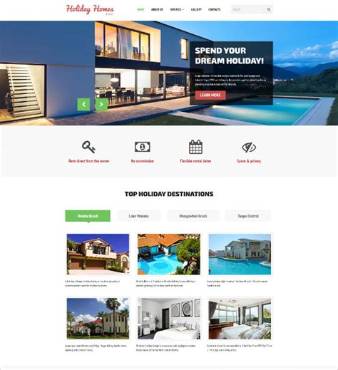 Real Estate Website Templates 33 Real Estate Website Themes Templates Free Premium Templates