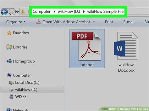 compress pdf according to size 3 ways to reduce pdf file size wikihow