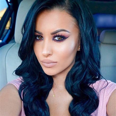 blue black hair color hottest blue black hair color ideas for 2017 new hair