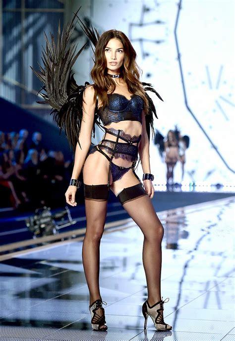 The Victorias Secret Landed by S Secret Fashion Show 2014 Behati Prinsloo