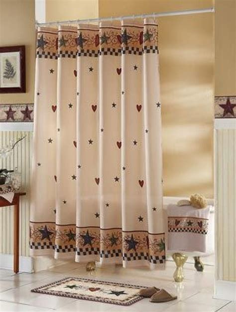 Country shower curtains for the bathroom curtain menzilperde net