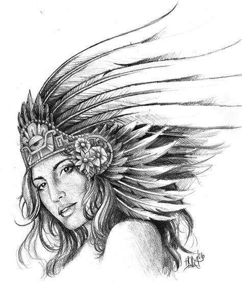 aztec girl tattoos aztec tattoos designs ideas and meaning tattoos for you