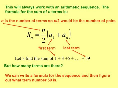 number pattern equation finder arithmetic sequences