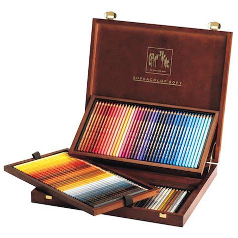 Caran D39ache Neo Colour 1 Metal Box 15 Colours caran d ache supracolor water soluble pencils wooden box of 120 colours cult pens