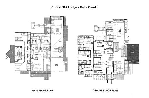 ski lodge floor plans floorplan chorki