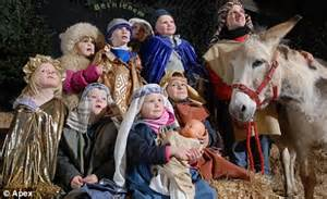 nativity children nativity chic how pushy parents spend 163 150 on costume to