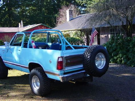 classic 76 dodge ramcharger se 400bb original paint