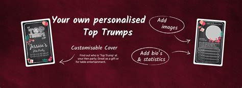make your own top trumps cards make your own personalised toptrumps mytoptrumps